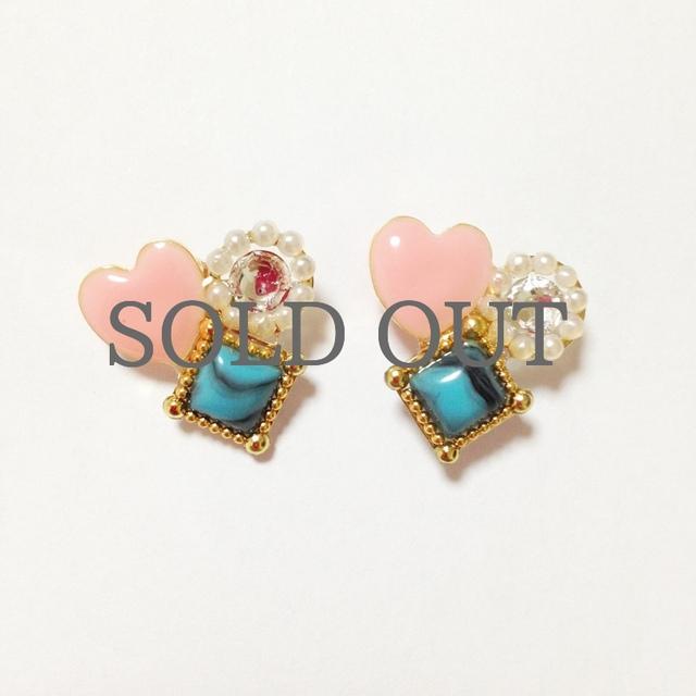 heart Jewelry Pierce*。+.