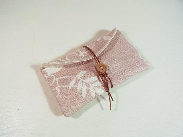 名刺・カードケース 「グレイッシュ・ピンク」