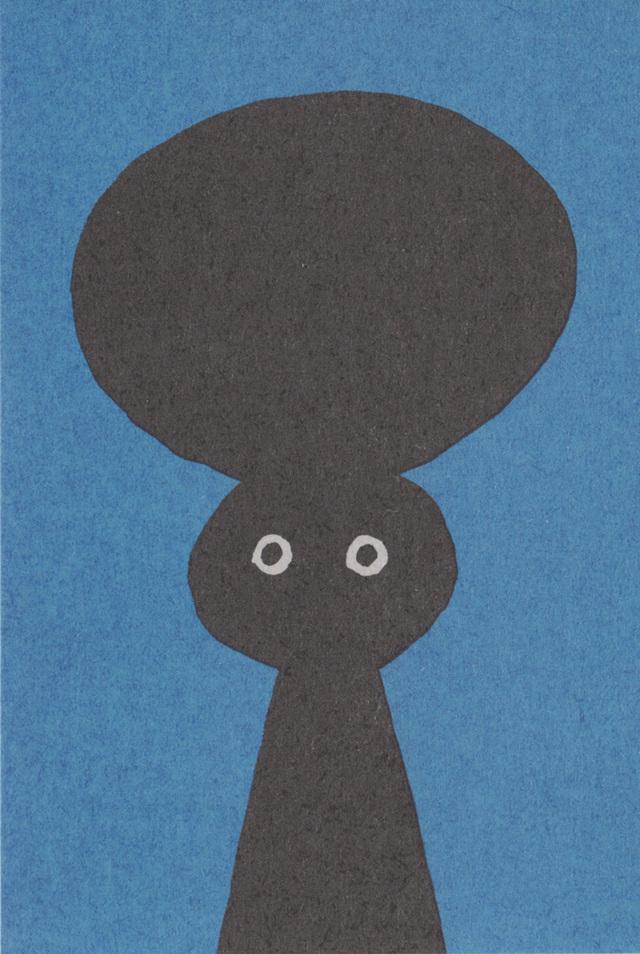 「あたまかみさま」POST CARD/5 sheet set