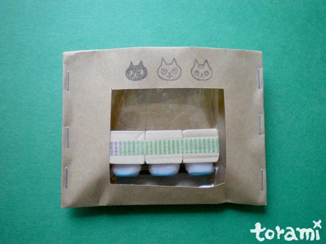 猫の顔のはんこセット6