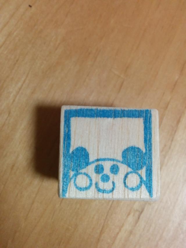 【アウトレット】パンダ枠/消しゴムはんこ