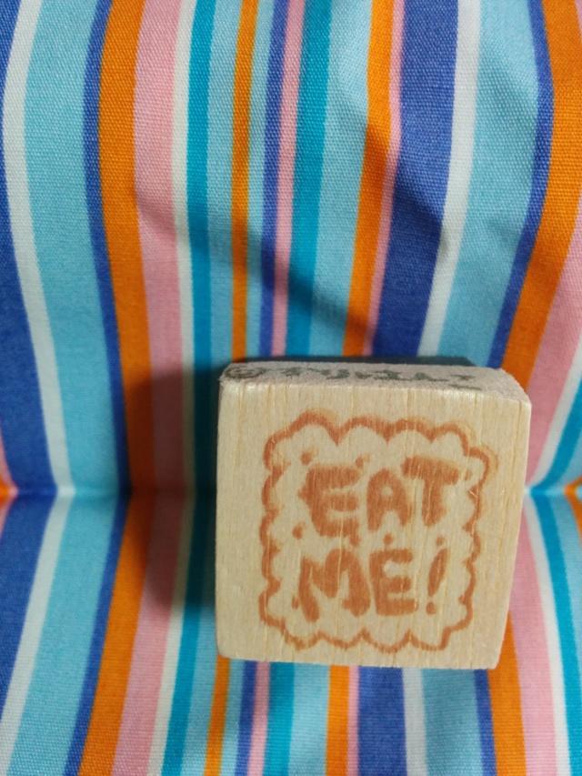 【アウトレット】EAT ME!クッキー/消しゴムはんこ