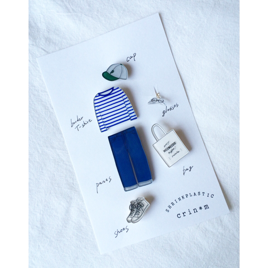 coordinate brooch set