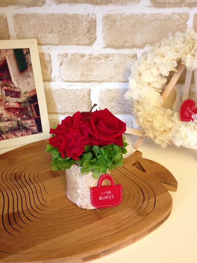 白樺りんご(まっかなバラ)