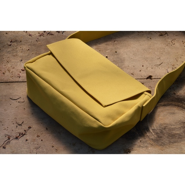SHOULDER BAG MUSTARD