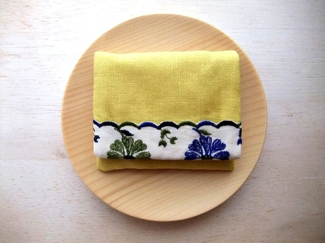 mini purse pouch (tirol&yellow)
