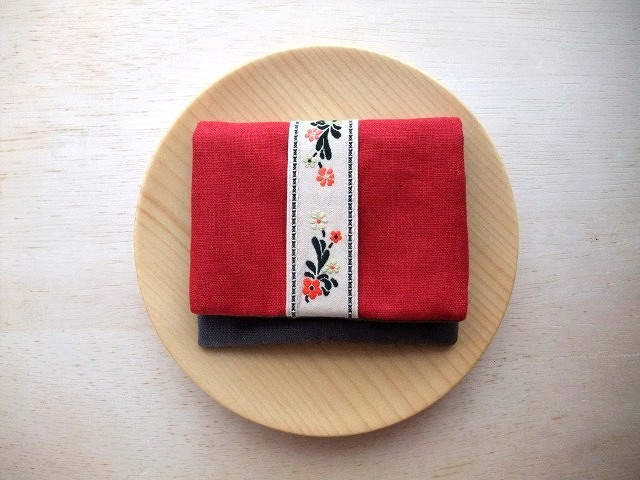 mini purse pouch (tirol&red)