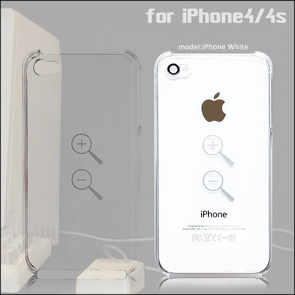 拡大縮小ズームツールデザインケース iPhoneケース