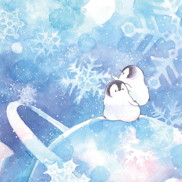 ハンドタオル 銀河雪