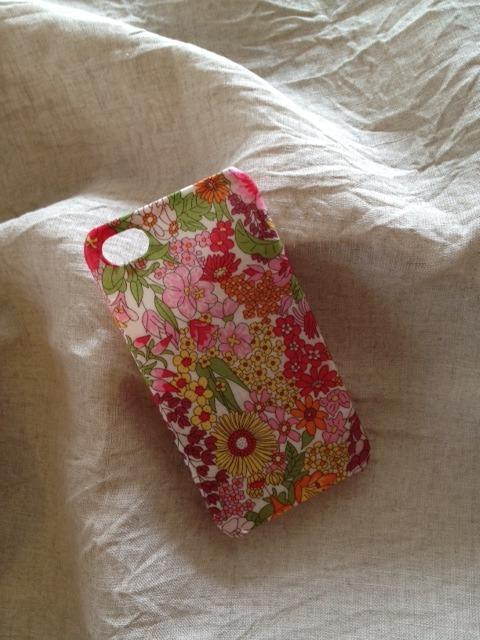 リバティ iphoneケース iphone5/5s(マーガレットアニー ピンク)