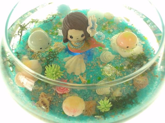 クラゲアクアリウム ぷちくらげちゃんと人魚ちゃん