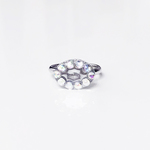 Dot Frame Ring -magic mirror-