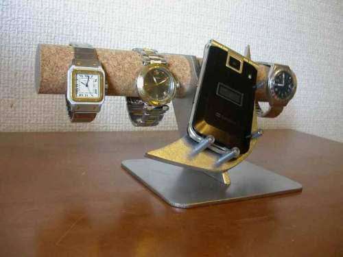 腕時計スタンド 腕時計、携帯電話スタンド スタンダード