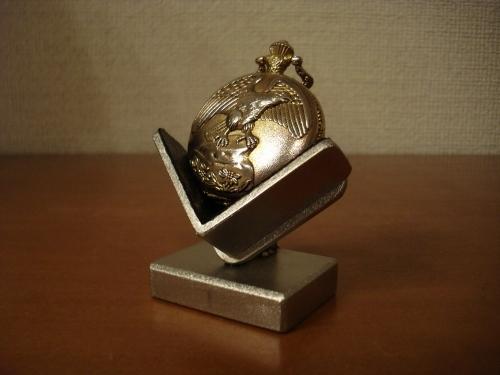 懐中時計 どっしりデザインブラック懐中時計収納、ディスプレイスタンド