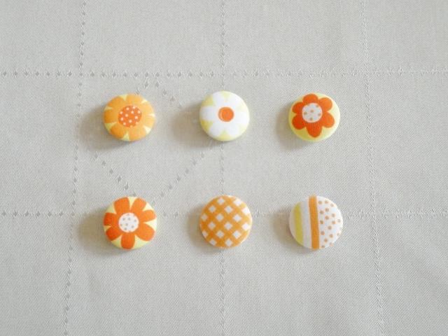★sale★くるみボタンセット #3