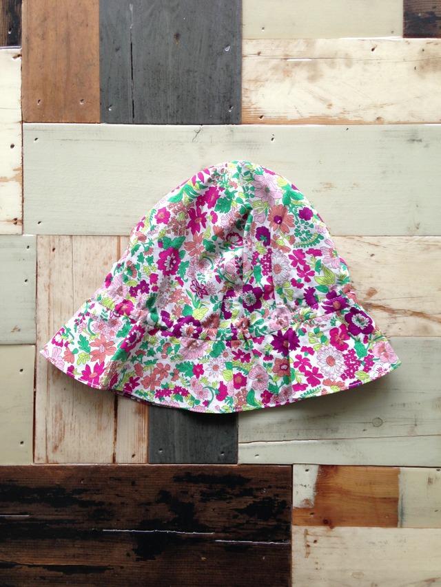 flower hat pink  1