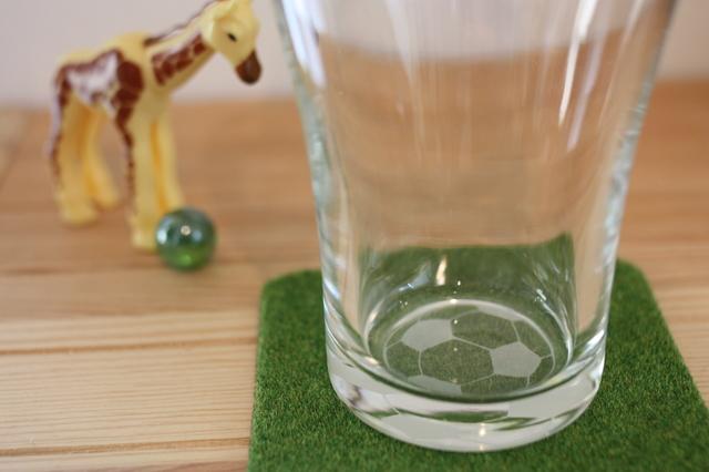 サッカーボールのグラス〜トールグラス〜