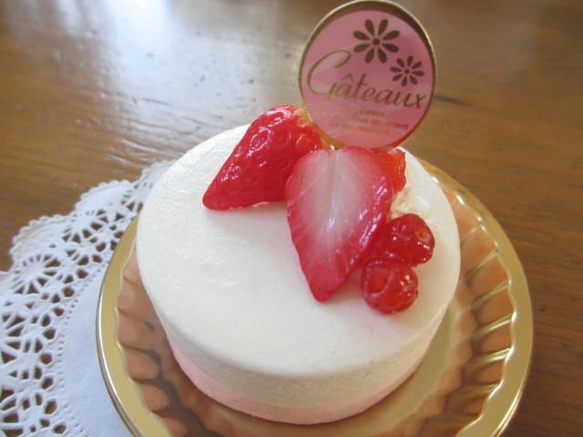 苺のムースケーキメモスタンド(丸)
