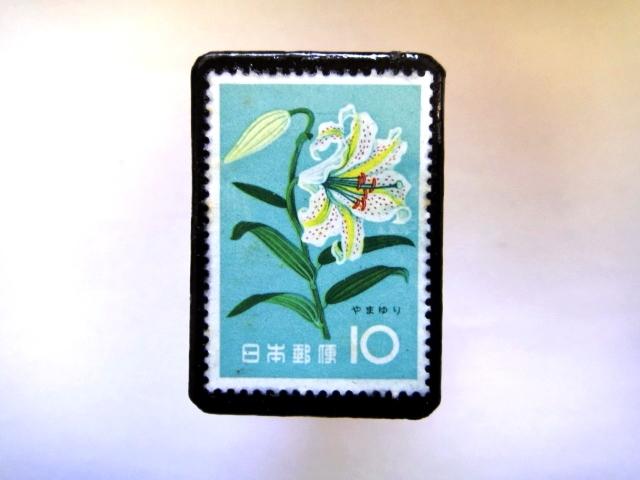 日本「花切手ブローチ」840