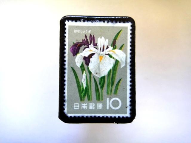 日本「花切手ブローチ」841