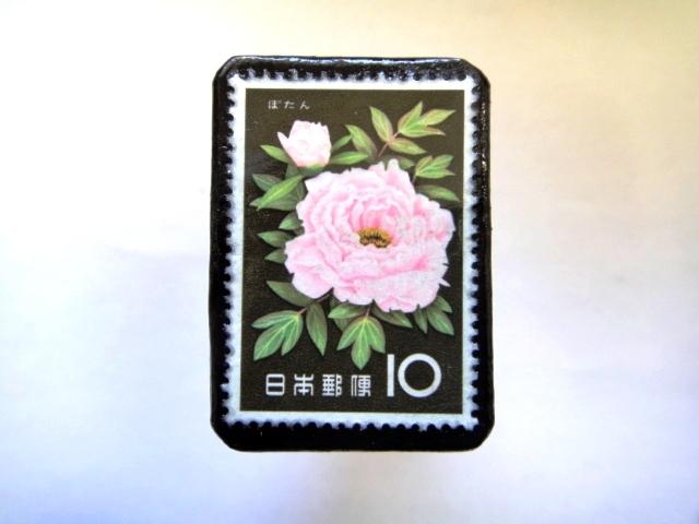 日本「花切手ブローチ」842