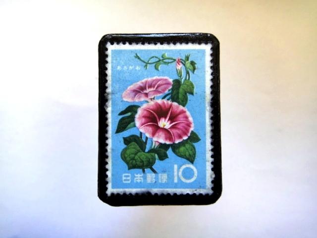 日本「花切手ブローチ」843