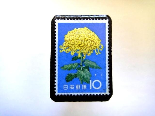 日本「花切手ブローチ」845