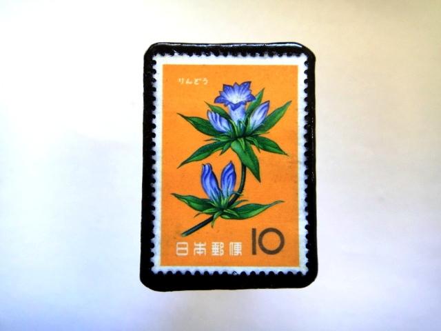 日本「花切手ブローチ」846