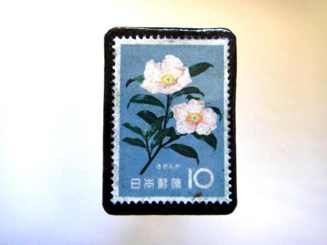 日本「花切手ブローチ」848