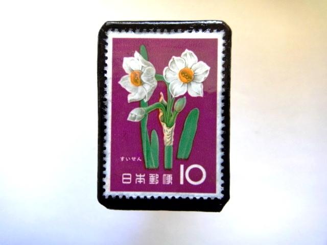 日本「花切手ブローチ」839