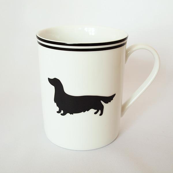 選べる犬種★シルエットマグ
