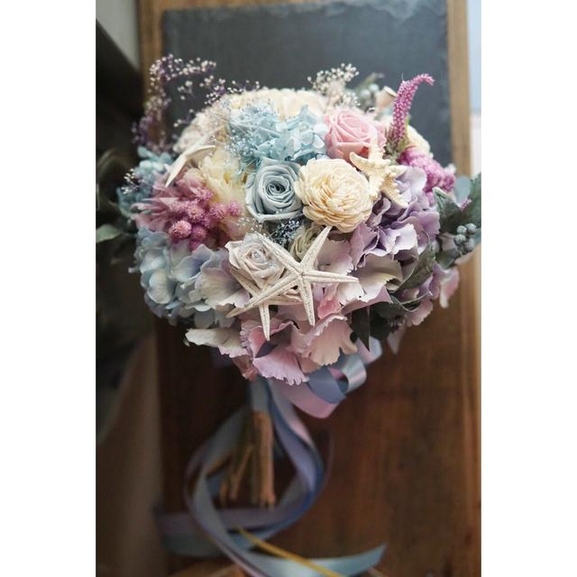 bouquet ' sea star ' ホワイト...