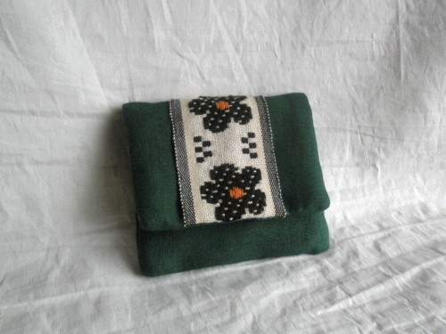 mini card pouch (グリーン)