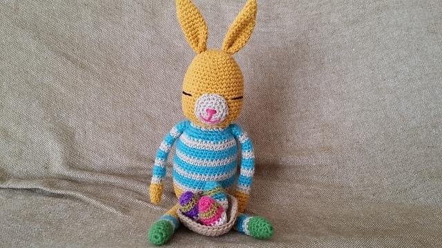 おしゃれウサギ(黄色) ∞イースターver.∞