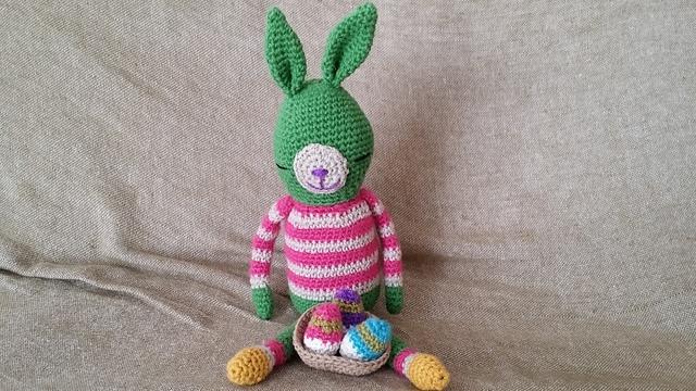 おしゃれウサギ(緑色) ∞イースターver.∞