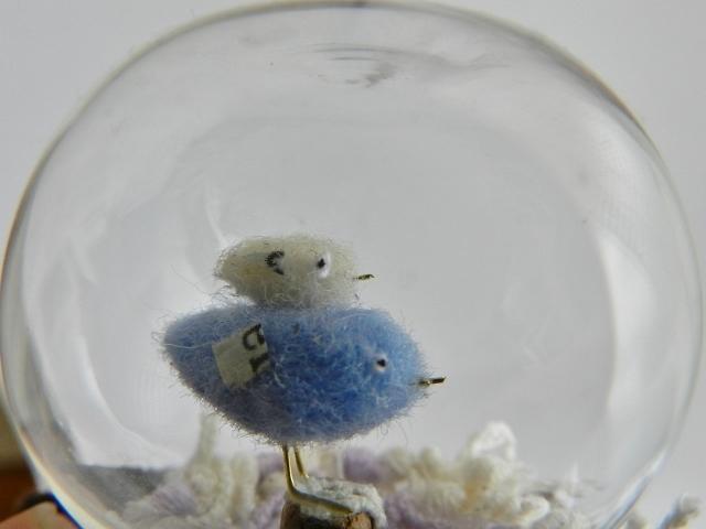 ガラスの中のしあわせの青い鳥-l (ブルー)
