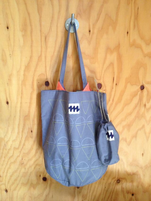 portable bag/gray