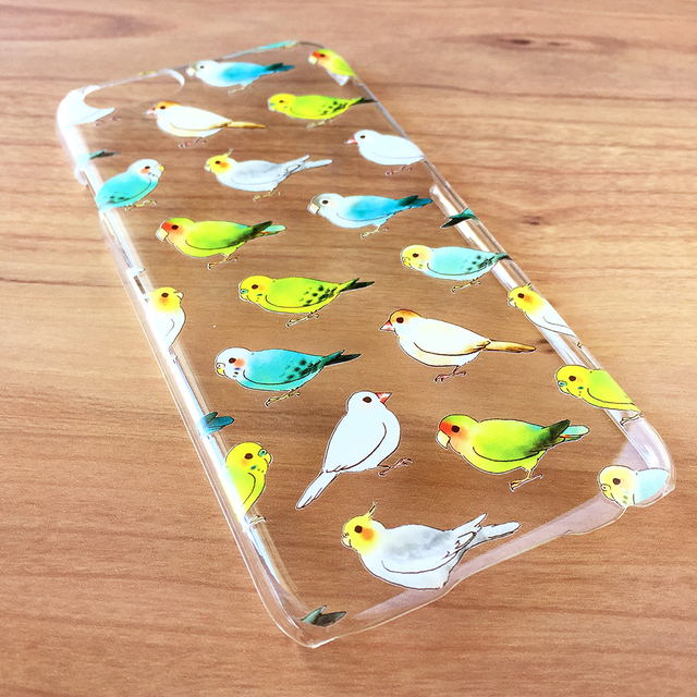 BIRD CLEAR CASE(iPhone機種選択下さい)