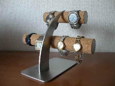 腕時計収納!6本掛け腕時計スタンド