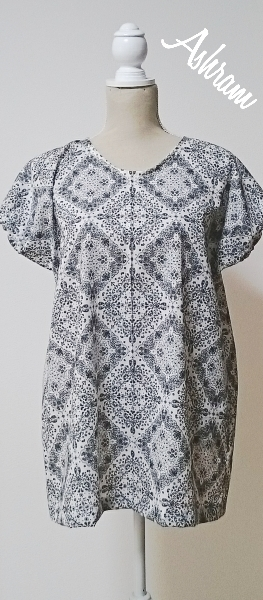 simple*longtunic   paisley