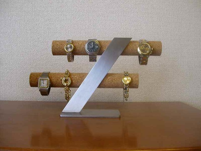ウォッチスタンド!スタンダード8本掛け腕時計スタンド