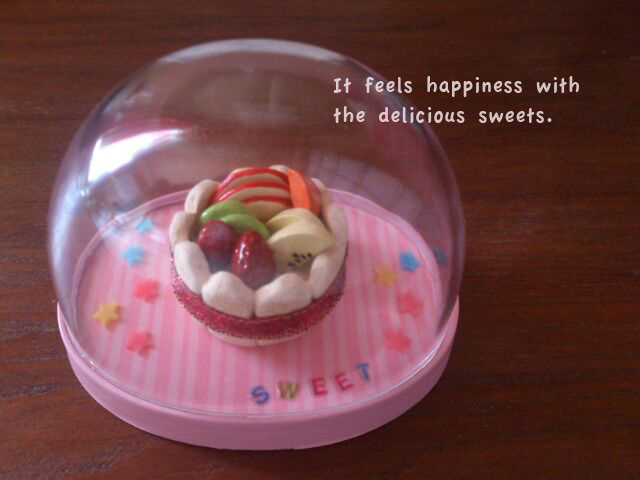 フルーツいっぱい☆キュートなタルト