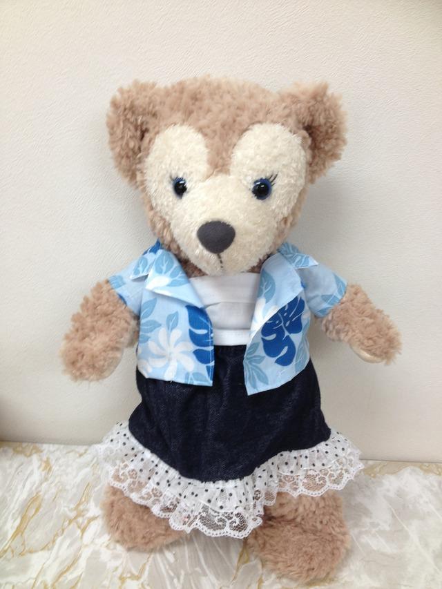 【Sale中】 SS−2: アロハシャツ&スカート&キャミ 3点セット
