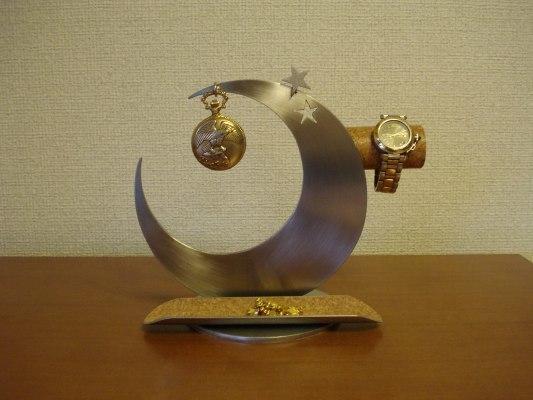 三日月懐中時計&腕時計きまぐれスターアクセサリースタンド