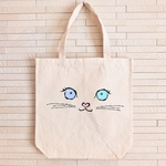 tote bag - odd-eyes cat