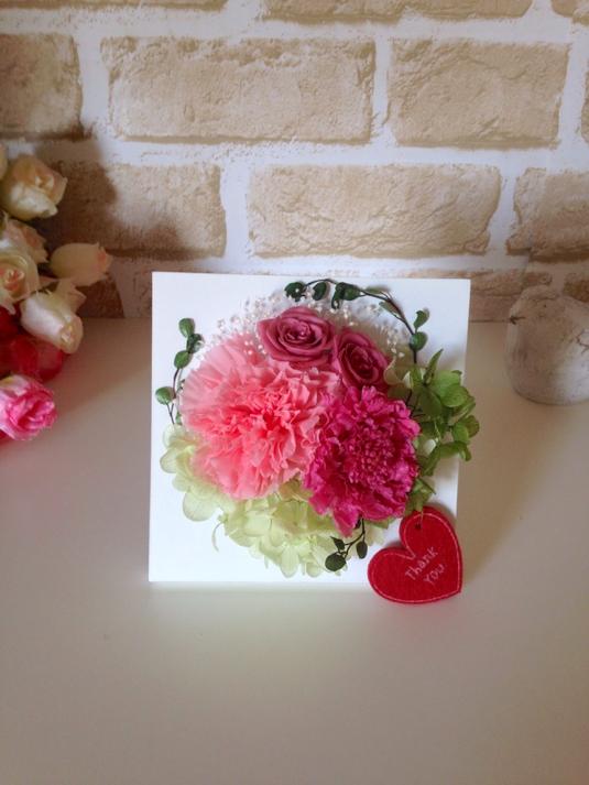 再販《母の日》fleur peinture(ストロベリーピンク)
