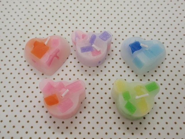 mini アロマキャンドル 5個セット (ラベンダーの香り)