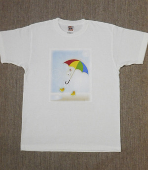レディースTシャツ・Sサイズ 『お散歩』