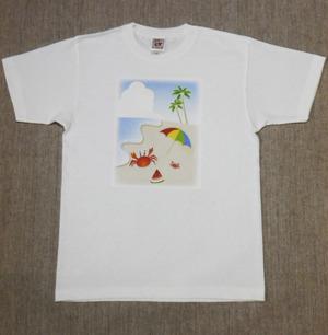 レディースTシャツ・Sサイズ 『Sea』