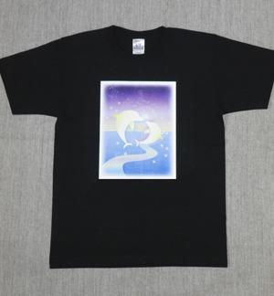 レディースTシャツ・Mサイズ 『Dolphin Star』